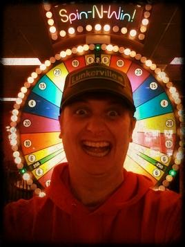 wheel selfie