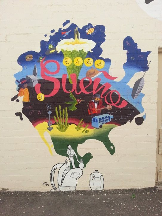 sueno mural